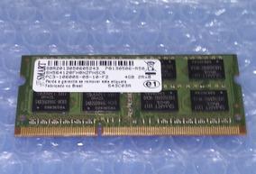 Memória Ram Ddr3 2gb Notebook Smart Com Nf