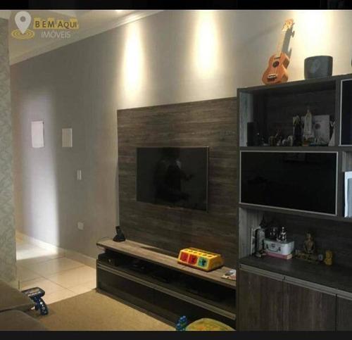 Imagem 1 de 12 de Casa Com 3 Dormitórios À Venda, 105 M² Por R$ 435.000,00 - Condomínio Residencial Allice - Itu/sp - Ca1520