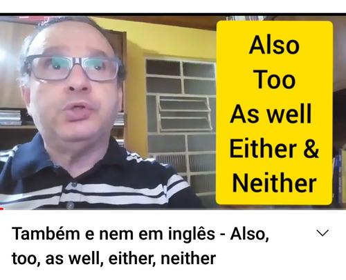 Imagem 1 de 5 de Inglês: Aulas Online Com Conversação