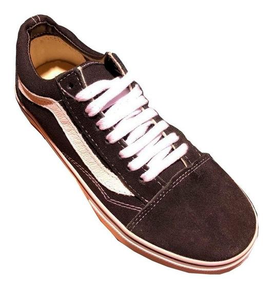 Zapatillas Mujer Y Hombre Modelo Old Skool Envio Gratis