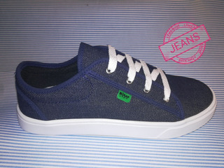 Zapatilla Jeans Del 35 Al 42