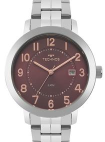 Relógio Technos Feminino Prata - 2115mrw/1r