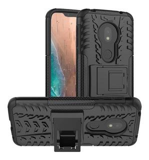 Capa Anti Impacto Forte Proteção Moto G7 Play+pelicula Vidro