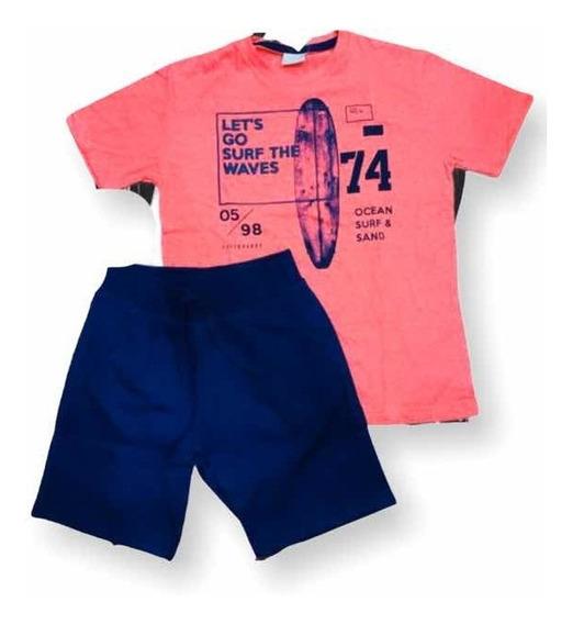 Conjunto Infantil Masculino Curto Milon Verão