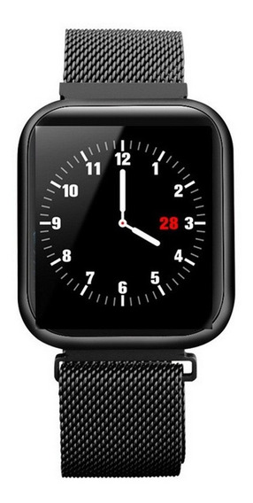 P80 Relógio Inteligente Full Touch Pressão Arterial Monitor