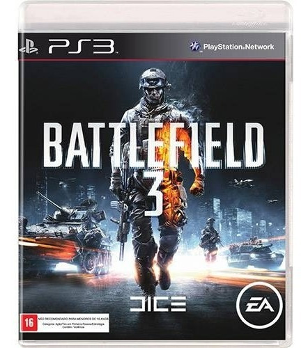 Battlefield - 3 | Ps3 / Playstation 3 M. Fisica