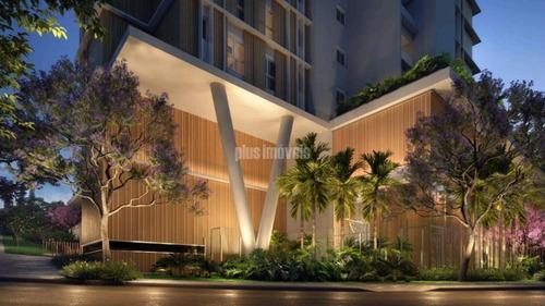 Imagem 1 de 14 de Obra De Arte, Arquitetura Contemporanea Que Poderá Ser Apreciada 24h. Vista Parque Ibirapuera - Ab133038