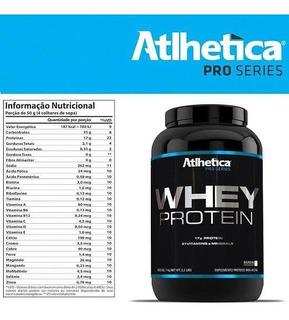 Whey Protein Atlhetica Nutrition Concentrado 1kg