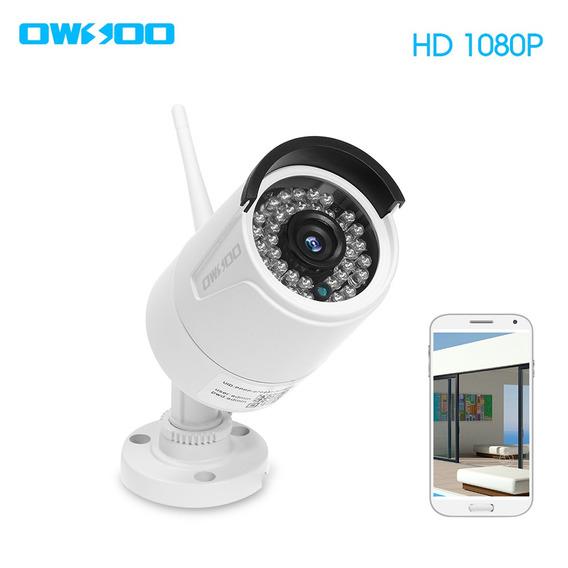Owsoo Ca-851c-r Wi-fi Câmera De Segurança Sem Fio Full Hd