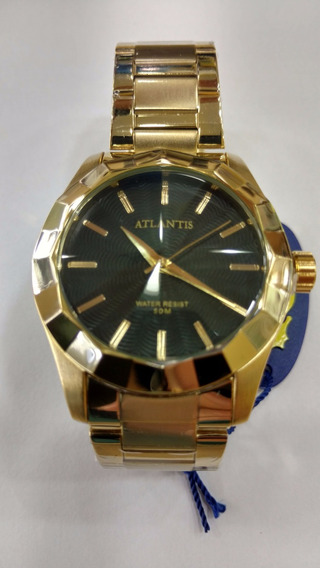 Relógio Atlantis Feminino Luxo Original - Lançamento 3235