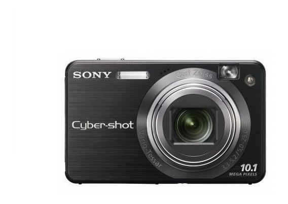 Câmera Digital Sony Cybershot 10.1 Mp Preta + Acessórios