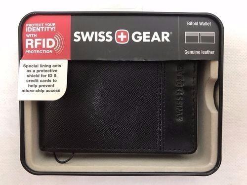 comprar popular 89120 e1d82 Cartera Piel Swiss Gear Billetera Rfid (anti-clonación)