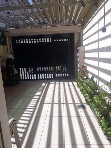 Casa Com 3 Dorms, Pompéia, Santos - R$ 750 Mil, Cod: 1614 - V1614