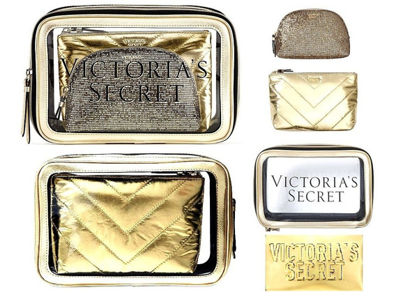Victoria Secret Trios Portacosmeticos Neceser Ultimas Colec!