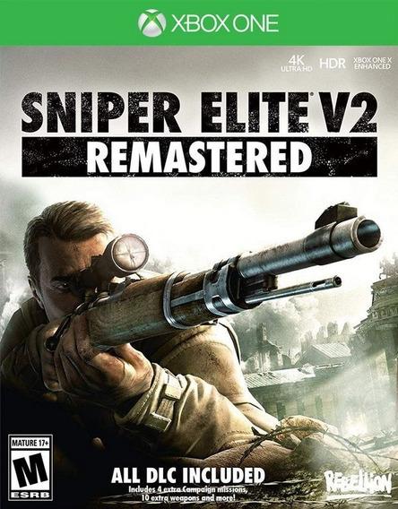 Snipe Elite V2 Xbox One Mídia Digital + 1 Jogo Grátis
