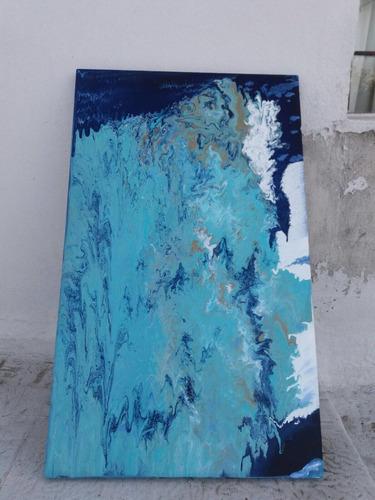 Imagen 1 de 4 de Cuadro Abstracto Por Florencia Costa