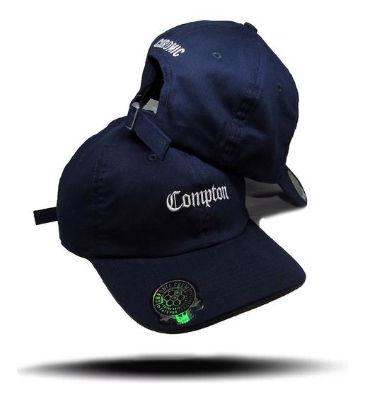 Boné Chronic Aba Curva Compton Original Dad Hat Fita Fitão