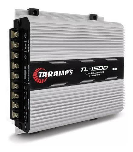 Imagem 1 de 4 de Modulo Potencia Taramps Tl1500 Tl 1500 Mono Stereo 390w Rms