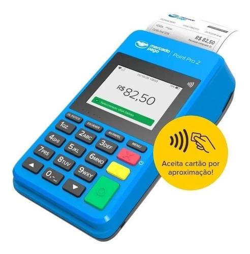 Point Pro 2 - A Máquina De Cartão Do Mercado Pago Bobina Nfc