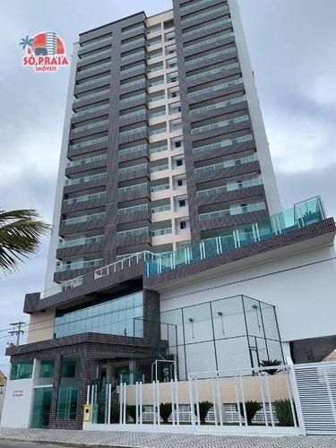 Imagem 1 de 30 de Apartamento Com 2 Dormitórios À Venda, 81 M² Por R$ 460.000 - Vila Anhanguera - Mongaguá/sp - Ap2963