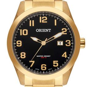 Relógio Orient Masculino Dourado - Mgss1180 P2kx