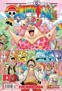 One Piece 83! Mangá Panini! Novo E Lacrado!