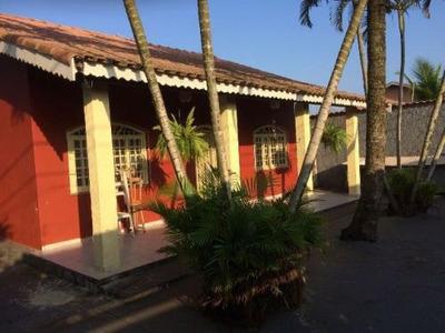 Linda Casa Escriturada, Lado Praia! Com 03 Quartos. Visite!