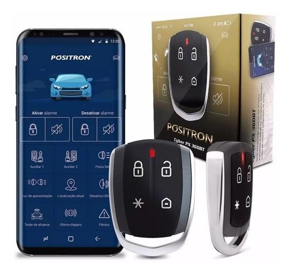 Alarme Automotivo Pósitron Cyber Px360bt Universal Bluetooth