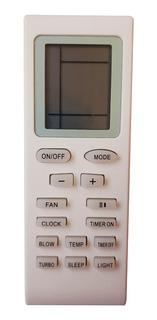 Control Remoto Aire Acondicionado Olimpo Haceb Forro + Pilas