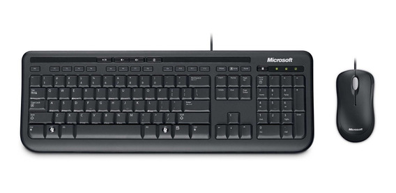 Teclado Microsoft Wired Keyboard 600 Com Fio (cód. 12128)