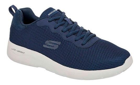 Tenis Skechers Dynamight 2.0 Navy Tallas De #25 A #29 Hombre