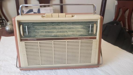 Rádio Antigo Philips Mensageiro Para Revisão