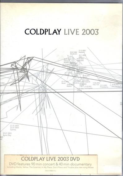 Coldplay Live 2003 - Dvd Original