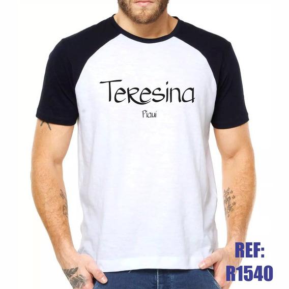 Camisa Raglan Teresina Piauí