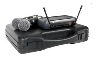 Tecshow Wmx 320 Hmx 300 Microfono Inalambrico Mano Doble