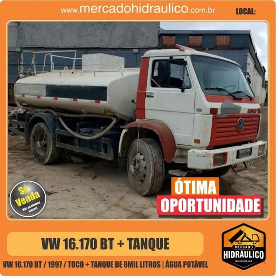 Vw 16.170 Bt / 1997 - Tanque 8000lt Água Potável