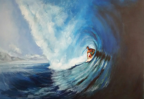 Linda Pintura A Oleo Sufista Havaino End Airons