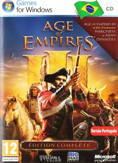 Age Of Empires 3 Complete Collection Portugues Pc Dvd-rom