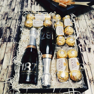 Regalos Con Chocolates Champagne Chandon A Domicilio Bs.as
