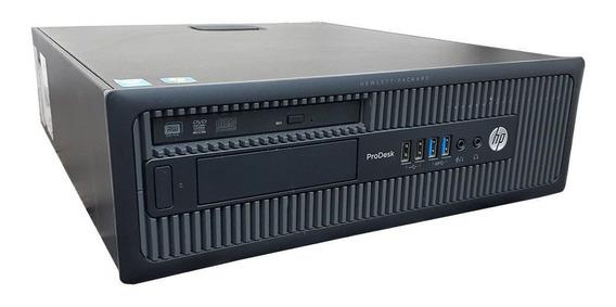 Cpu Hp Prodesk 600 Slim Core I5 4ªg 16gb Ddr3 Hd 1tb Wifi