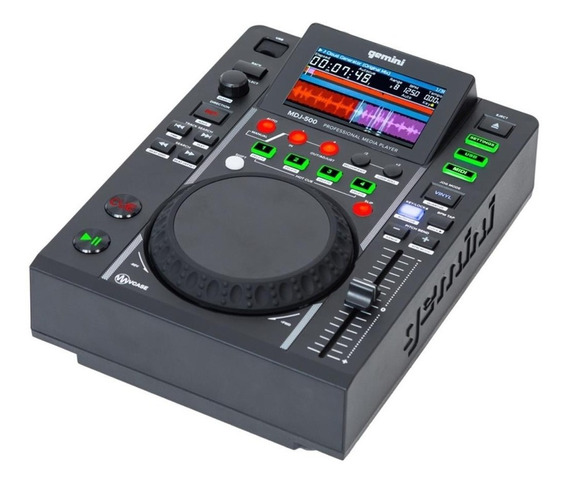 Cd Player Usb Gemini Mdj-500