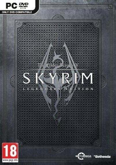 The Elder Scrolls V: Skyrim Pc (midia Física)