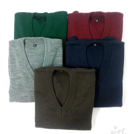 Sweaters Colegiales Talles 4-6-8-10-12-14-16-18