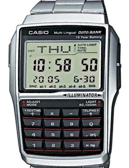 Relógio Masculino Casio Digital Vintage Calculadora
