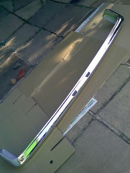 Parachoque Traseiro Corcel 2 78 79 Ldo Luxo C/ Furo Borracha