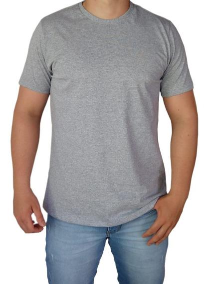 Kit 8 Camiseta Masculina Básica Slim 100% Algodão Gola O