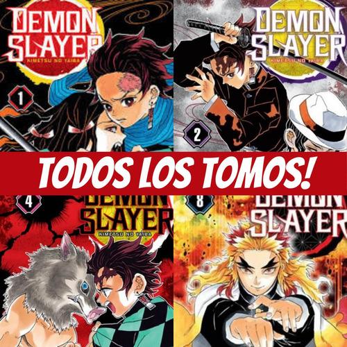 Imagen 1 de 7 de Manga - Demon Slayer - Elige Tu Tomo - Ivrea Koyoharu Shonen