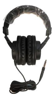 Hugel Dch-7166 Auricular Cerrado Tipo Vincha Monitoreo Negro