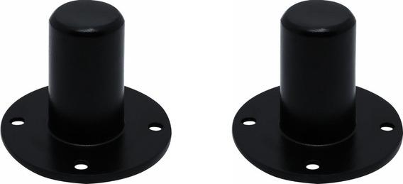 2 X Suporte Copo Chapeu Para Pedestal De Caixa De Som Alumín