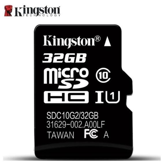 Micro Sd Kingston 32 Gb,original, Classe 10, 80 Mb/s